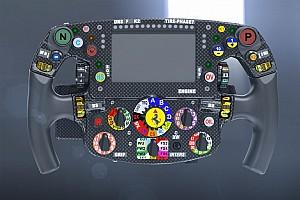 Formel-1-Technik: Neuer Knopf am Ferrari-Lenkrad von Sebastian Vettel