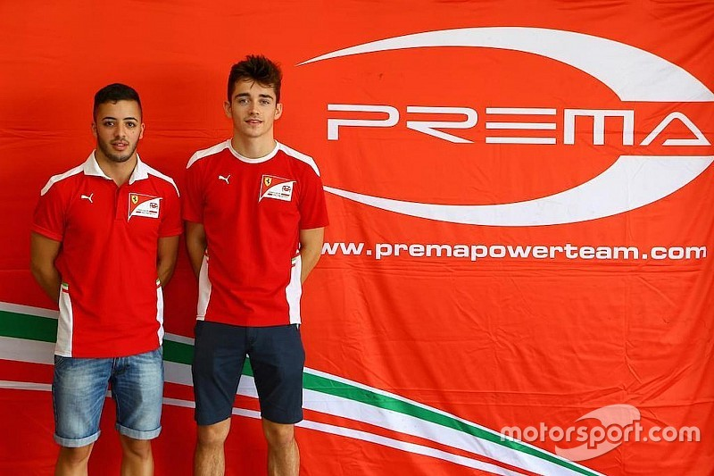 Prema confirms Leclerc and Fuoco for 2017 GP2 season