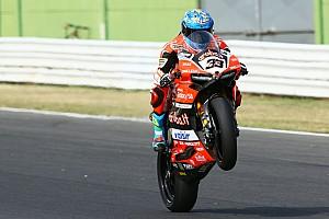 World Superbike Race report Misano WSBK: Melandri scores first win since return