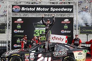 NASCAR XFINITY Reporte de la carrera Jones gana en Bristol; Suárez sube al tercer lugar