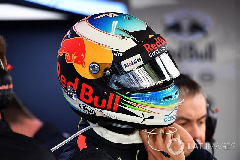 """Ricciardo dice que gesto a Grosjean fue """"en el calor del momento"""""""
