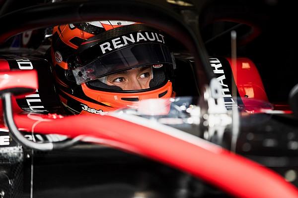 FIA F2 Actualités L'objectif d'Aitken? Le top 5 au général
