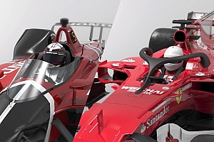 VIDEO 3D: Kaca IndyCar vs Halo F1