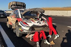 WRC Actualités Latvala abandonne au soir de la deuxième étape