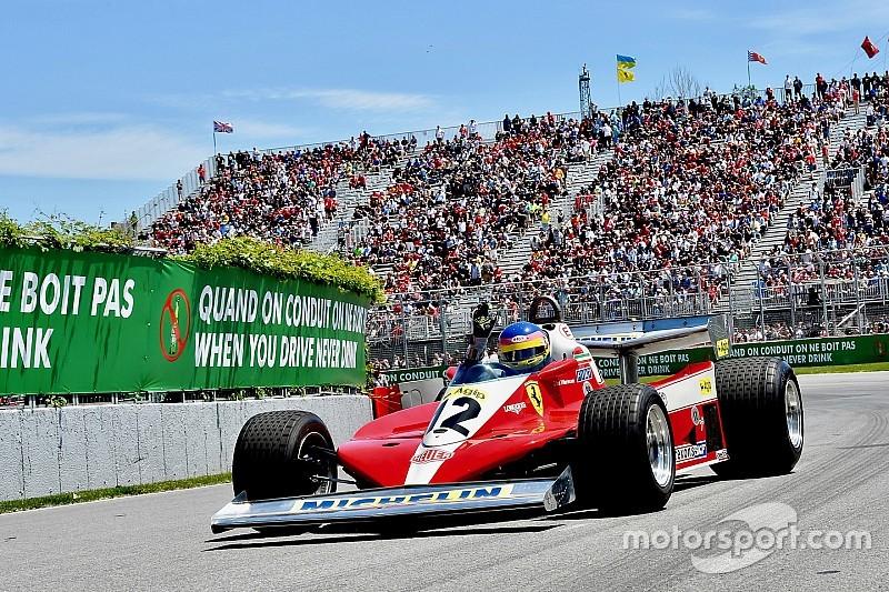 Жак Вильнев проехал круг в Канаде на Ferrari 312 T3 своего отца: фото