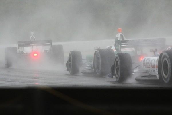 IndyCar La pioggia battente fa rinviare a lunedì la gara di Birmingham