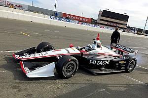 IndyCar Репортаж з тестів Ньюгарден очолив протокол на тестах IndyCar у Сономі