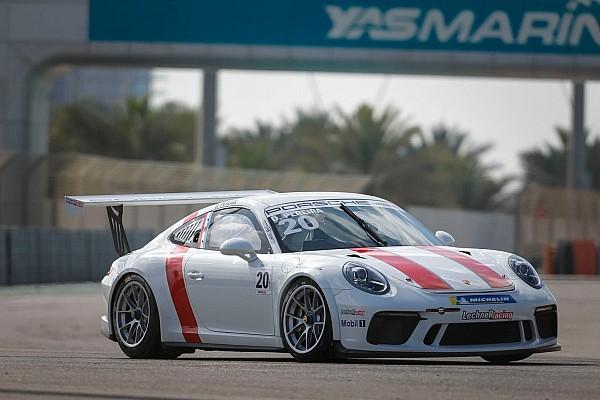 بورشه جي تي 3 الشرق الأوسط بورشه جي تي 3 الشرق الأوسط: بيريرا يفرض هيمنته على السباق الافتتاحي لجولة أبوظبي