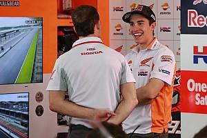 """MotoGP Noticias Márquez: """"Estoy encantado de poder seguir con Honda"""""""