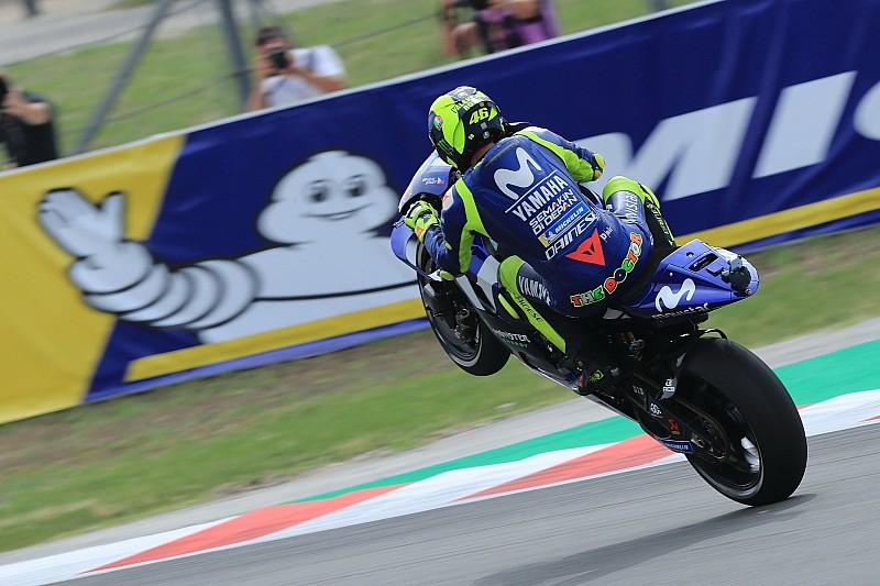 Rossi tuding alokasi ban Michelin tidak benar