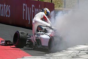 Formule 1 Réactions Ericsson explique pourquoi il s'est extrait lentement de sa F1 en feu