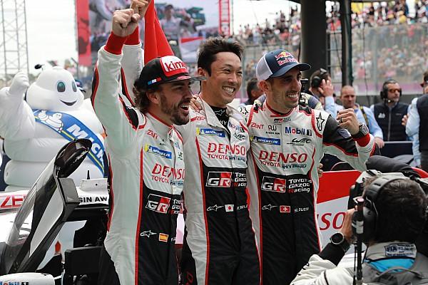 ル・マン優勝、8号車トヨタの3人がコメント。アロンソ「最高の結果」