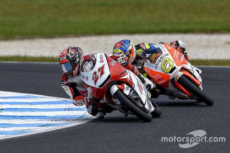 鳥羽海渡「ここ数戦は走り出しから苦戦。厳しい展開だった」:Honda Team Asia