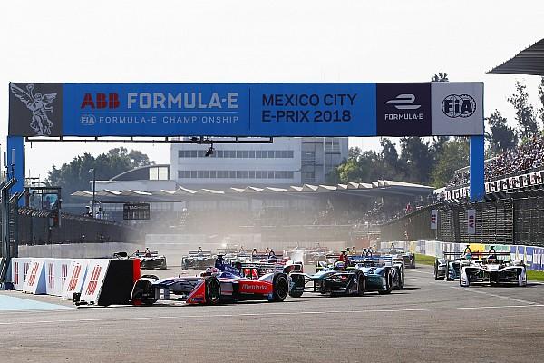Fórmula E GALERÍA: El ePrix de México en fotos