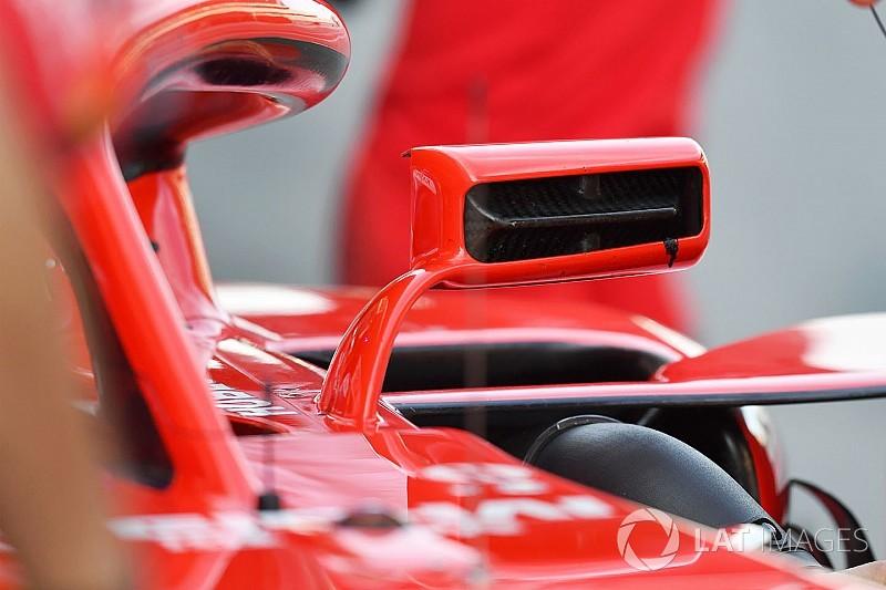FIA autoriza equipes a montar retrovisores no halo