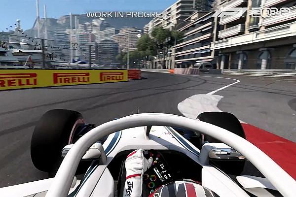 Formule 1 Actualités Les premières images du jeu F1 2018 dévoilées!