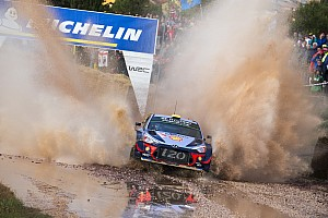 WRC Leg report Italy WRC: Mikkelsen leads Hyundai 1-2 on Friday morning