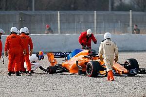 Formel 1 Reaktion McLarens Wiedergeburt: Alonso trotz verlorenen Rades euphorisch