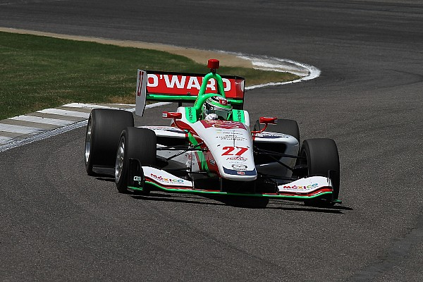 Indy Lights Race report Barber Indy Lights: O'Ward wins in dry, dominates in wet