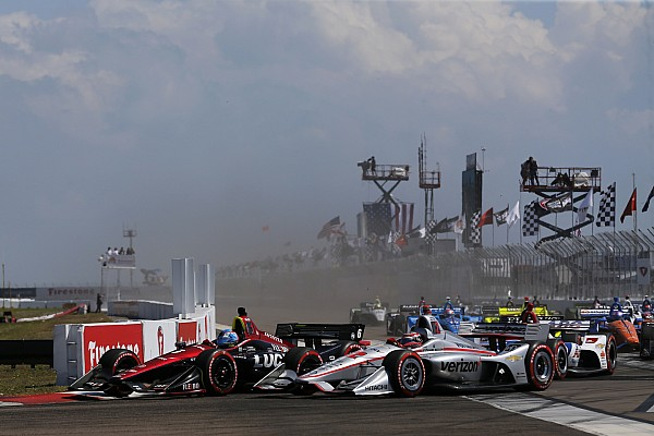 IndyCar Breaking news IndyCar features 999 passes in just four races in 2018