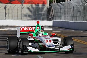 Indy Lights Gara Pato O'Ward centra il successo in Gara 1 a St. Pete