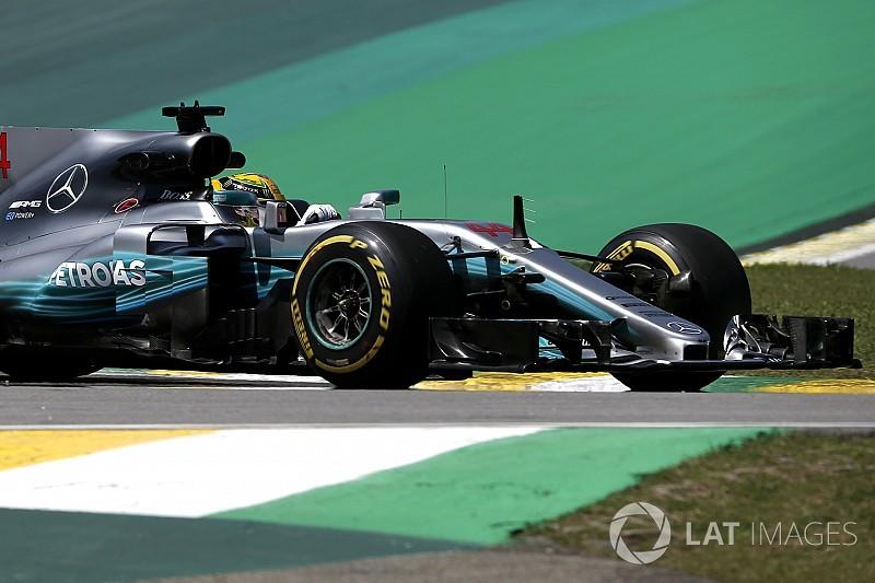 Formel 1 2017 in Brasilien: Mercedes dominiert erneut