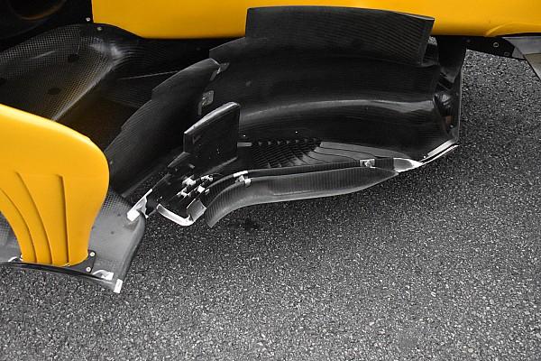 Renault: ci sono due boomerang davanti al bargeboard!