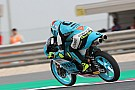 Moto3 Moto3 Qatar: Dalla Porta topt warm-up, crash voor favoriet Martin