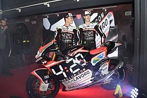 Moto2 Breaking news Luncurkan livery, Forward Racing punya sponsor baru