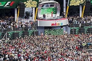 El GP de México el mejor evento de F1 por tercer año consecutivo
