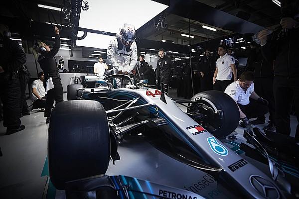 Формула 1 Новость Неспособность Mercedes совладать с шинами озадачила Хэмилтона