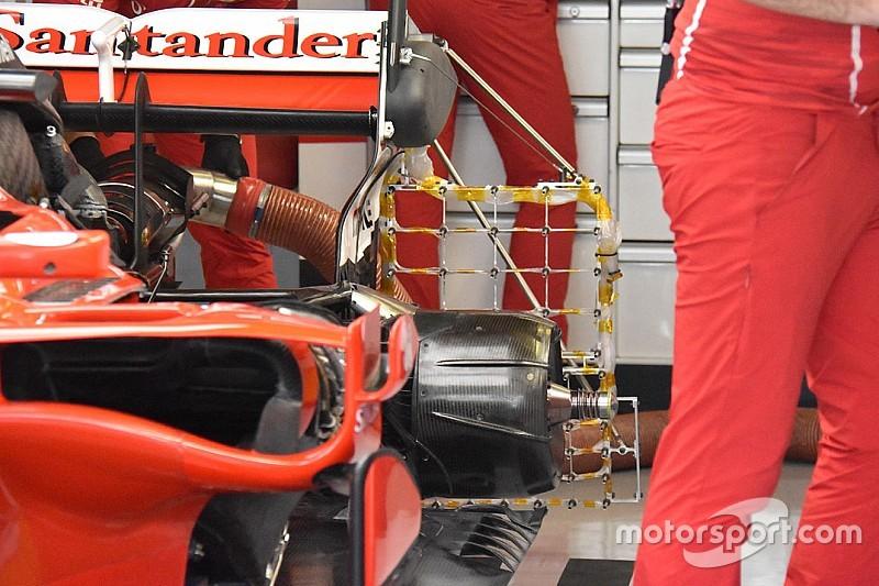 Test aerodinamici: Ferrari, Mercedes e Red Bull montano i rastrelli