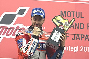 MotoGP Últimas notícias Dovizioso se sente favorito do público ao título