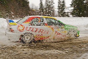 Ралі України Репортаж з етапу Ралі Зимові вершини: черга професіоналів