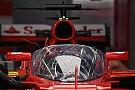 Penampakan pertama 'Shield' di mobil F1 Ferrari