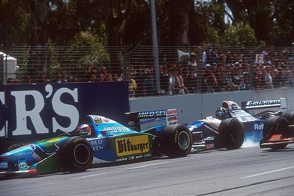 Forma-1 Hill, Schumacher és az a bizonyos ausztrál ütközés