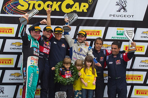 Brazilian V8 Stock Cars: Interlagos hosts thriller to crown Felipe Fraga as its youngest champion