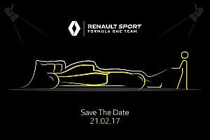 Renault 2017 F1 aracı tanıtımı - Canlı yayın