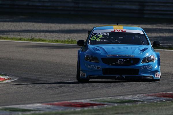 WTCC Отчет о гонке Бьорк принес Volvo первую победу в 2017 году