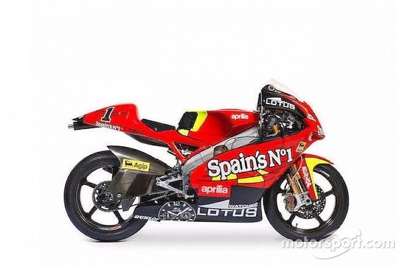 Moto campeã com Lorenzo na 250cc vai a leilão na Inglaterra