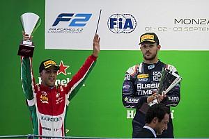 FIA F2 Noticias de última hora Ghiotto despojado de la victoria en la carrera de F2 en Monza