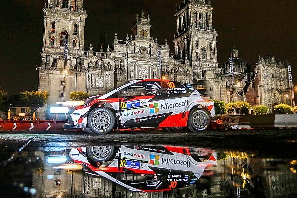 WRC in Mexiko: