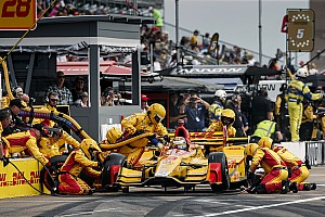 IndyCar Breaking news Hunter-Reay, Sato praise Andretti Autosport recovery