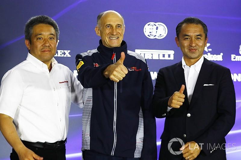 本田目标2018年与红牛二队力争前三