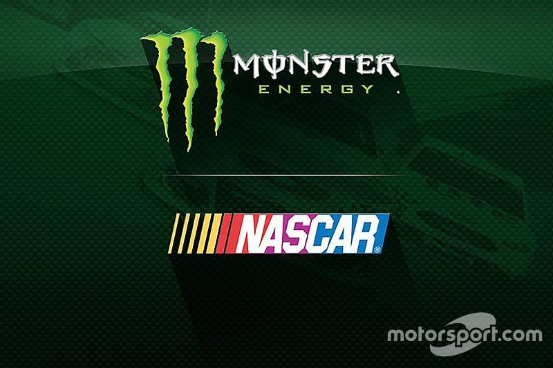 Monster стал новым титульным спонсором NASCAR