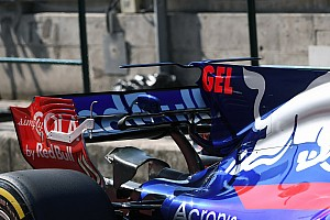 Formula 1 Top List Gallery: Key F1 tech shots from the Hungaroring test