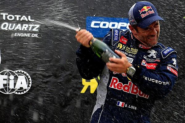World Rallycross Loeb enchaîne les podiums avant Lohéac