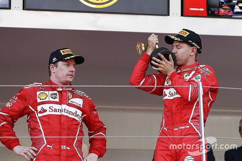 Райкконен: У Феттеля не має статусу №1 у Ferrari