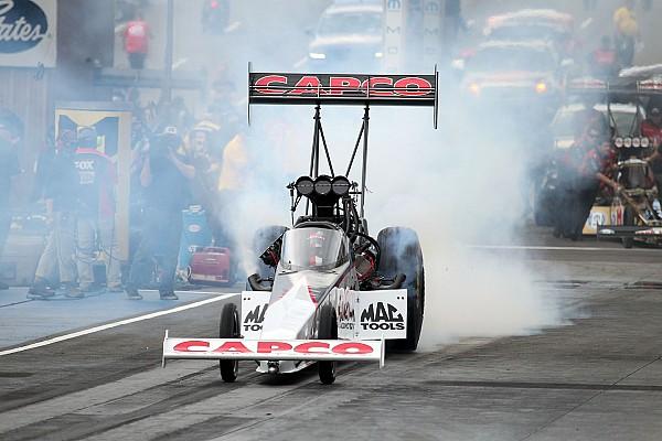 NHRA Steve Torrence wins Top Fuel Traxxas Nitro Shootout