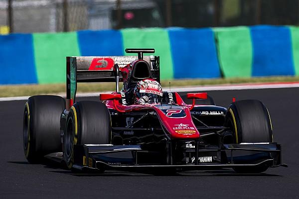 Matsushita festejó en la segunda carrera de la F2